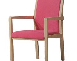Chaise Bridge rosa